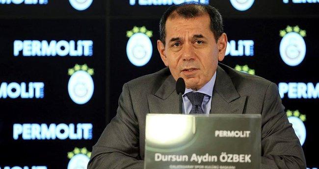Dursun Özbek: Kupalara ambargo koyacağız