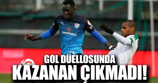 Maç sonucu: Akhisar Belediyespor 3-3 Bursaspor (ÖZET)