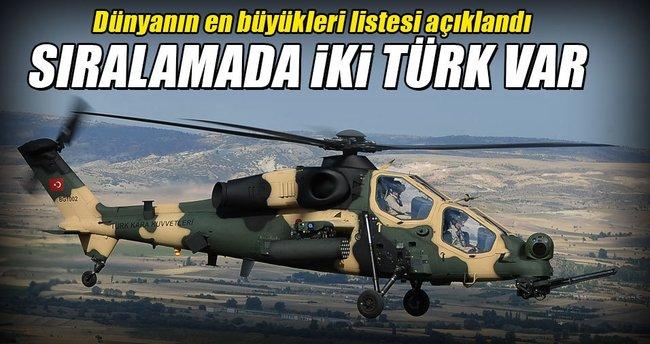 Savunmada iki Türk yükseliyor