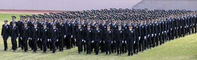 Komiser yardımcılarının mezuniyet heyecanı