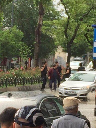 İstanbul Beyazıt'ta patlama