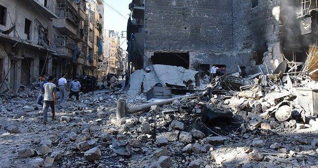 Halep'te yerleşim alanına saldırı: 8 ölü, 20 yaralı