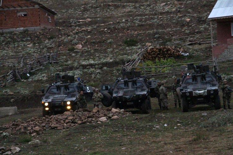 Karadeniz'de PKK'lılar böyle etkisiz hale getirildi