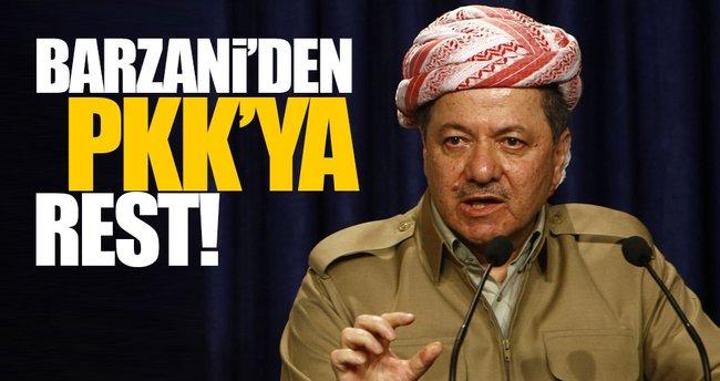 Mesut Barzani: PKK'nın Şengal'de işi yok!