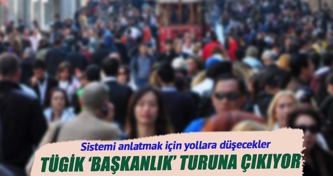 Başkanlık sistemi için Anadolu'yu turlayacak