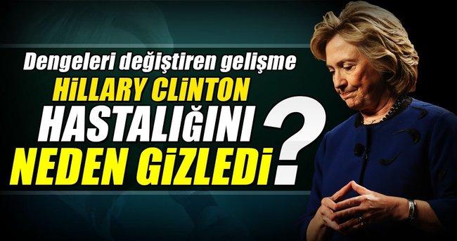 Clinton'ın gizli bir hastalığı mı var?