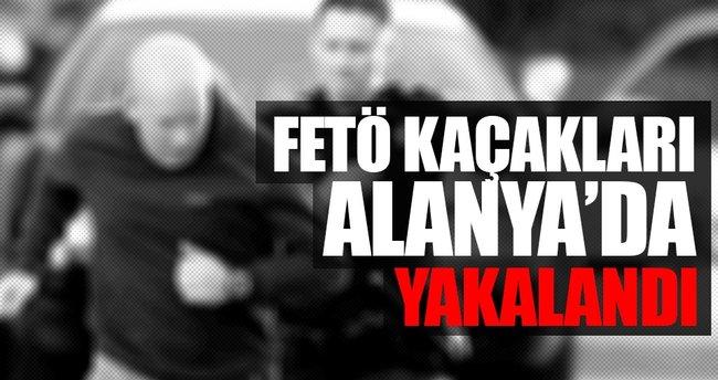 FETÖ kaçakları Alanya'da yakalandı