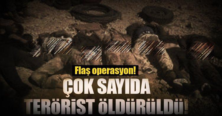 TSK'dan K. Irak'a operasyon: 6 terörist öldürüldü