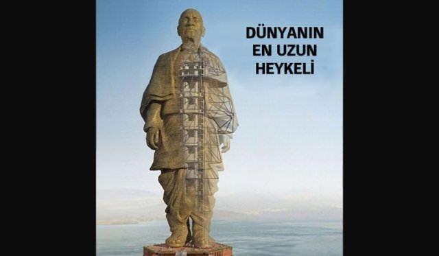 Dünyanın en uzun heykeli onun için yapılıyor!