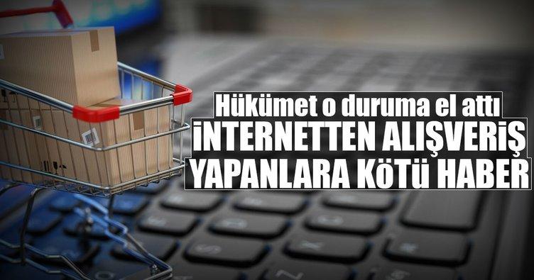 İnternetten alışverişten vergi alınacak