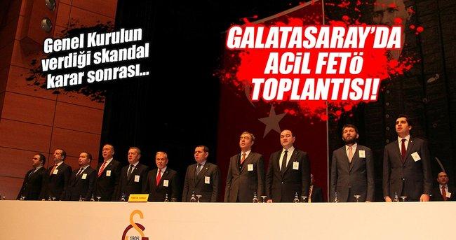 GALATASARAY'DA ACİL 'FETÖ' TOPLANTISI!