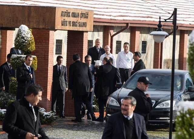 Başbakan Davutoğlu, Bakanlar Kurulu üyeleri ile kahvaltıda bir araya geldi