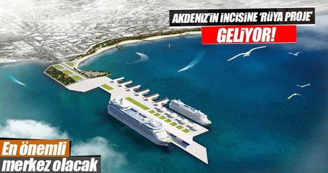 Antalya'ya kruvaziyer ve yat limanı yapılacak