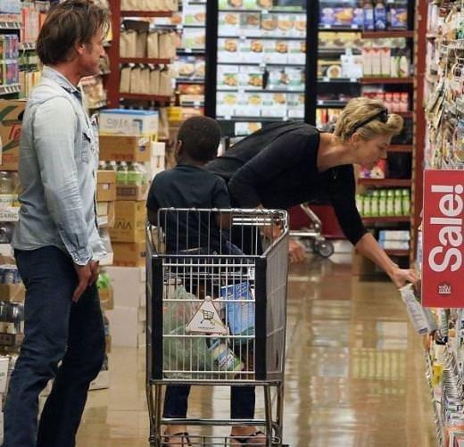 Sürpriz aşıklar: Sean Penn ve Charlize Theron