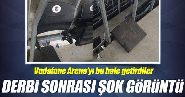 VODAFONE ARENA BU HALE GELDİ