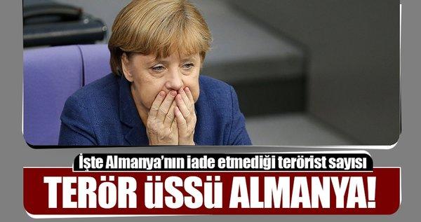 Terör örgütlerinin sığınağı Almanya!