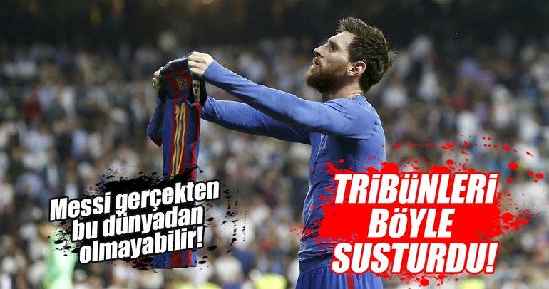 Messi, Real Madridlileri susturdu!