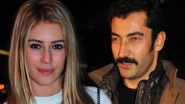 Kenan İmirzalıoğlu ile Sinem Kobal'ın romantik anları