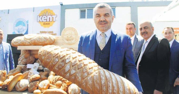 Belediye fırınından eski usul ekşi ekmek