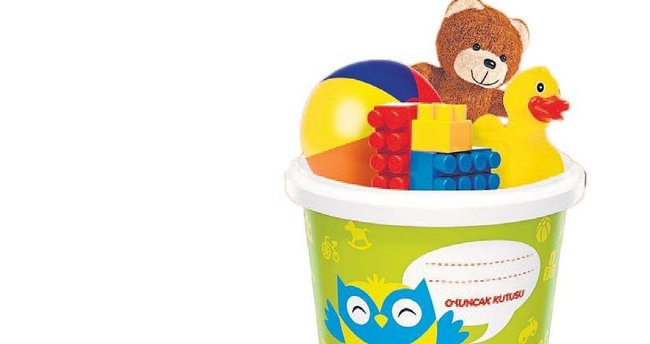 Ambalajlar oyuncak kutusuna dönüştü