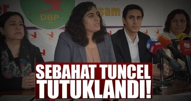 DBP'li Sebahat Tuncel tutuklandı