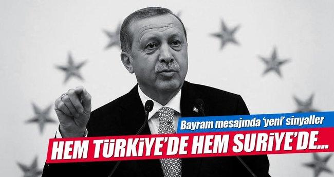 Cumhurbaşkanı Erdoğan: PKK ve DAEŞ'i bitireceğiz