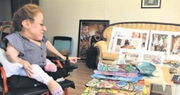 Cam kemik hastası Elif'in büyük azmi