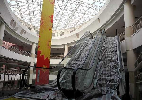 Dünyanın en büyük alışveriş merkezi sinek avlıyor