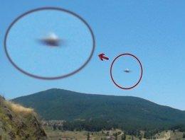 2014 yılına ait UFO görüntüleri