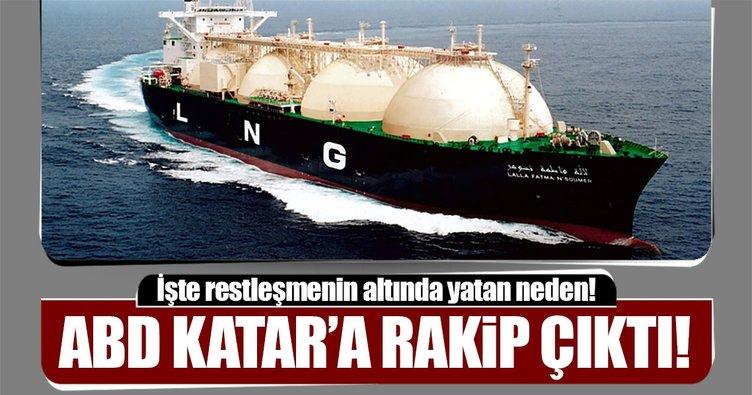 ABD Katar'ın LNG Tahtına Aday