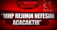 MHP'den flaş Başkanlık açıklaması!
