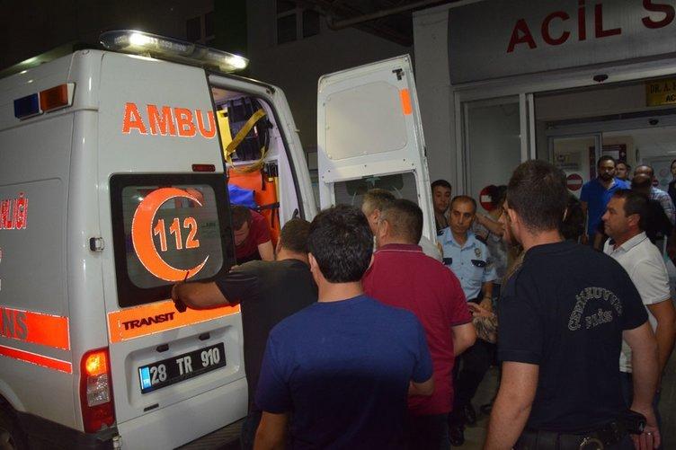 Giresun'da polis aracına silahlı saldırı ve sonrasında bombalı tuzak!