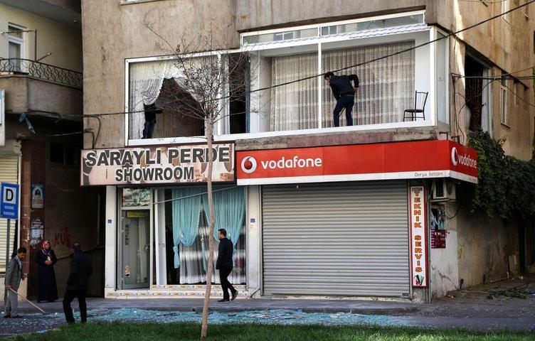 Diyarbakır'da vatandaştan hain saldırıya tepki
