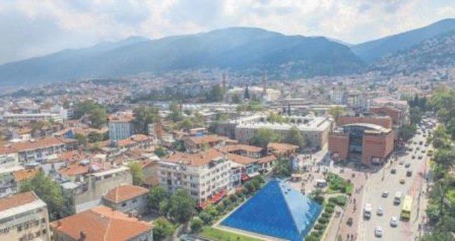 Drone kameralar Bursa için havalandı