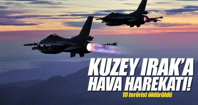 TSK'dan flaş açıklama! 10 terörist öldürüldü