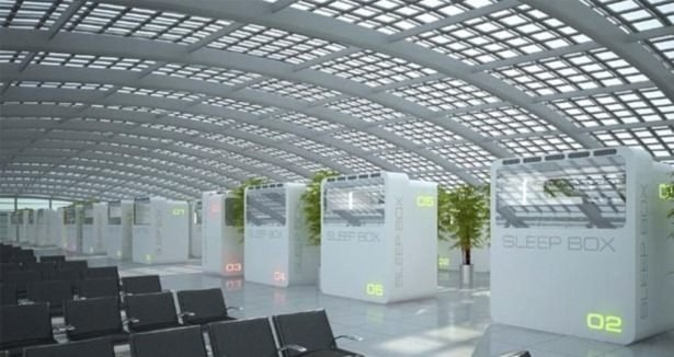 3. havalimanının ilk proje taslakları