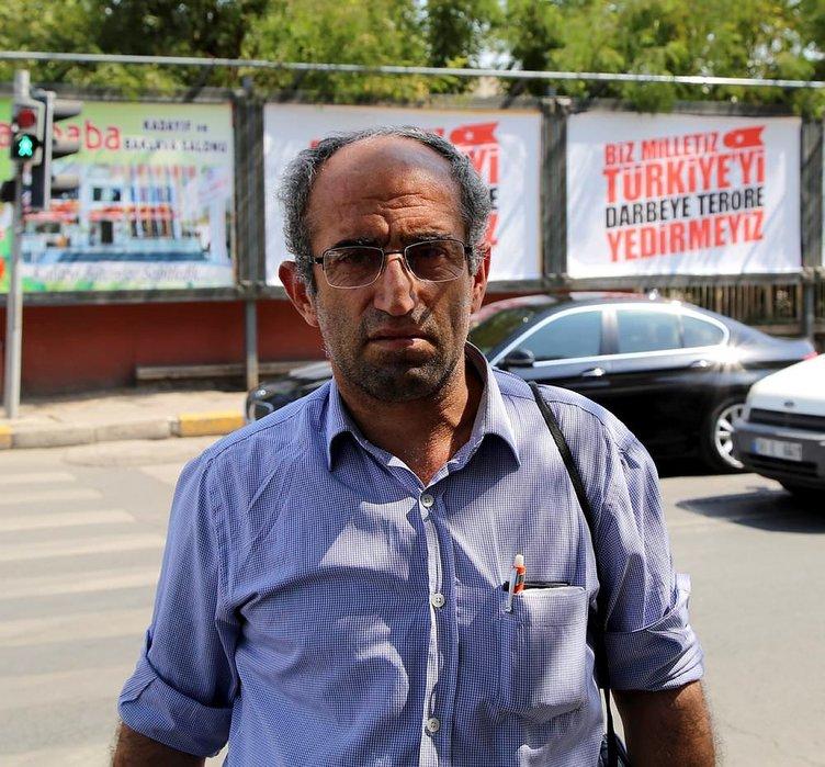 Diyarbakır'da darbe ve teröre afişli tepki