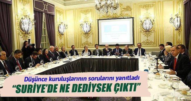 """""""Suriye'de ne dediysek çıktı"""""""