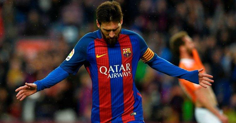 Messi'den Suriyeli çocuklara dev yardım!
