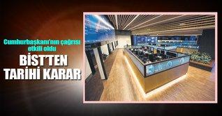 Borsa İstanbul tüm parasını TL'ye çevirdi
