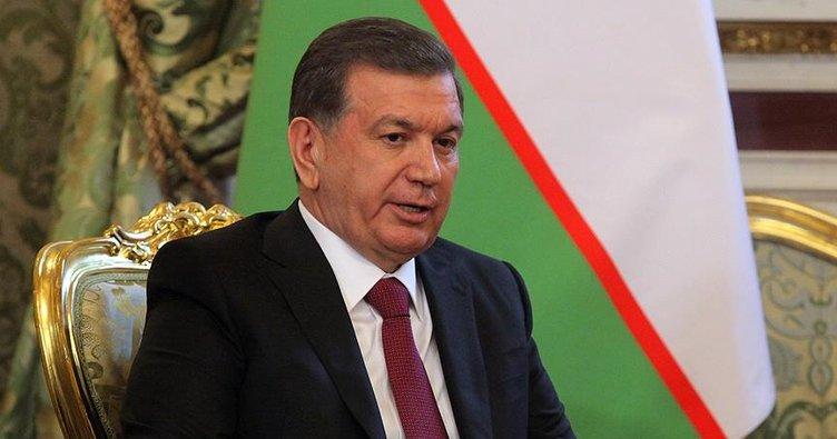 Özbekistan Cumhurbaşkanından Erdoğan'a tebrik