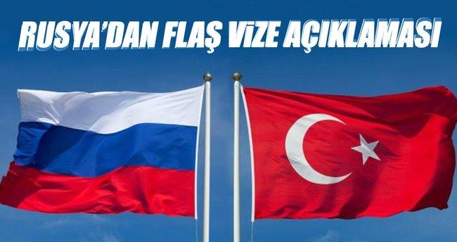 Son dakika: Rusyadan flaş vize açıklaması