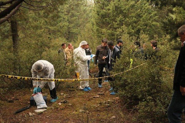 Kayıp genç ormanda toprağa gömülü bulundu