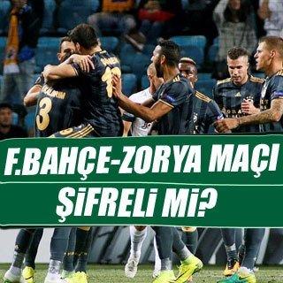 Fenerbahçe - Zorya maçı şifreli mi?