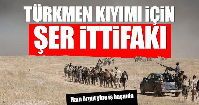 PKK ve Haşdi Şabi Türkmen kıyımı için ortak oldu