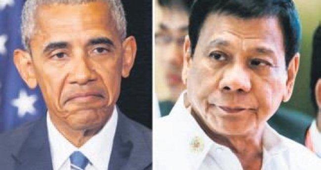 Obama'ya küfür etti görüşme iptal oldu
