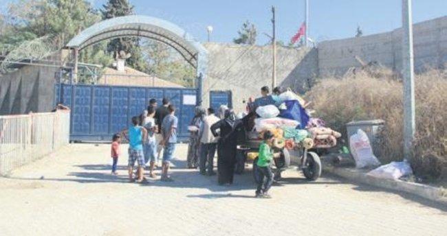 Cerablus'a Türkiye'den bin 770 Suriyeli döndü