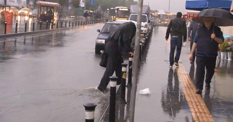 Meteoroloji uyardı: İstanbul'da bu akşam sağanak yağmur var