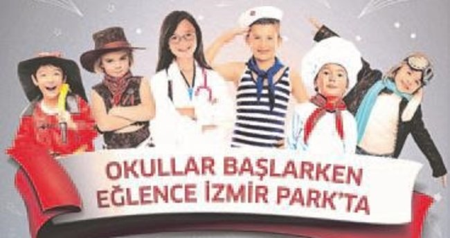 İzmir Park'tan okul seti hediyesi