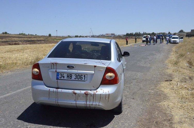 Siverek'te otomobile çapraz ateş: 1 ölü, 4 yaralı